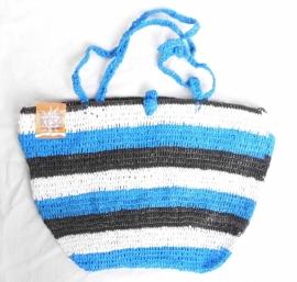 405 - zwart/wit/blauw