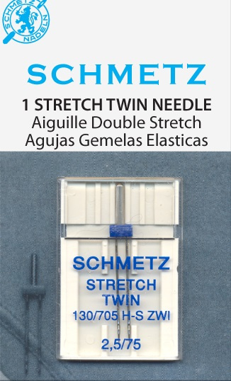Schmetz stretch twin