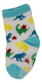 Sokjes met grip Dino