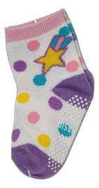 Sokjes met grip vallende ster