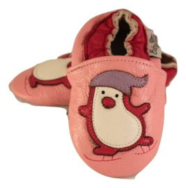 Pinguin Leder Hausschuhe