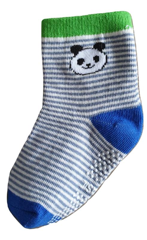 Sokjes met grip panda