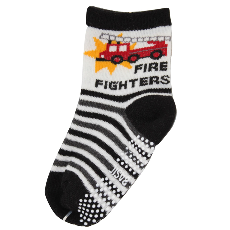 Sokjes met grip Brandweer