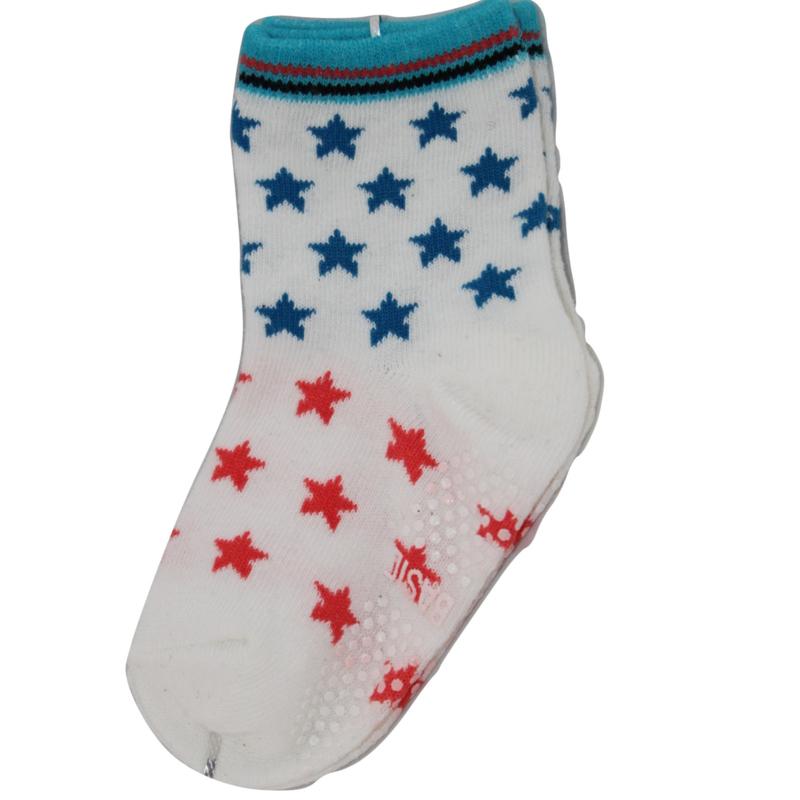 Sokjes met grip sterren
