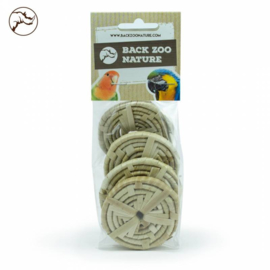 Back Zoo Nature Woven Silces Large - Pack of 6