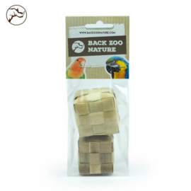 Back Zoo Nature Woven Cubes - Pack of 2