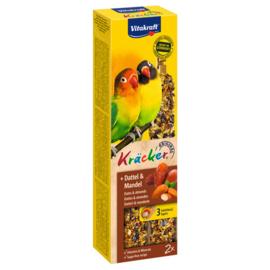 Agapornis kracker fruit 2 stuks Fruit
