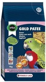 olux gold patee eivoer voor grote parkieten/papegaaien (1kg)
