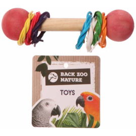 Back Zoo Nature Woven Ring Foot Toy