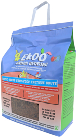 Ekoo Animal Bedding exotic kokos grof, 25 liter.