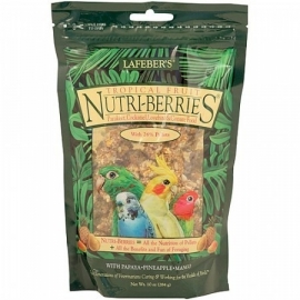 Lafeber Nutri-Berries Tropical Fruit Cockatiel 284g