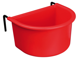 Hanging Bowl with Wire Holder, Plastic 400ml