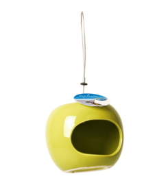 Ceramic apple feeder Groen