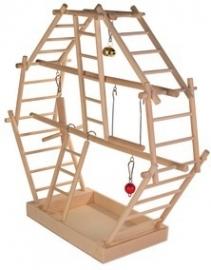 Ladderspeelplaats - 44x44x16 cm.