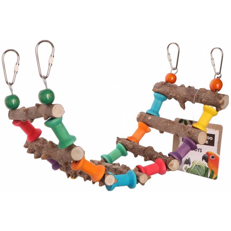 Back Zoo Nature Pepper Wood Colour Ladder