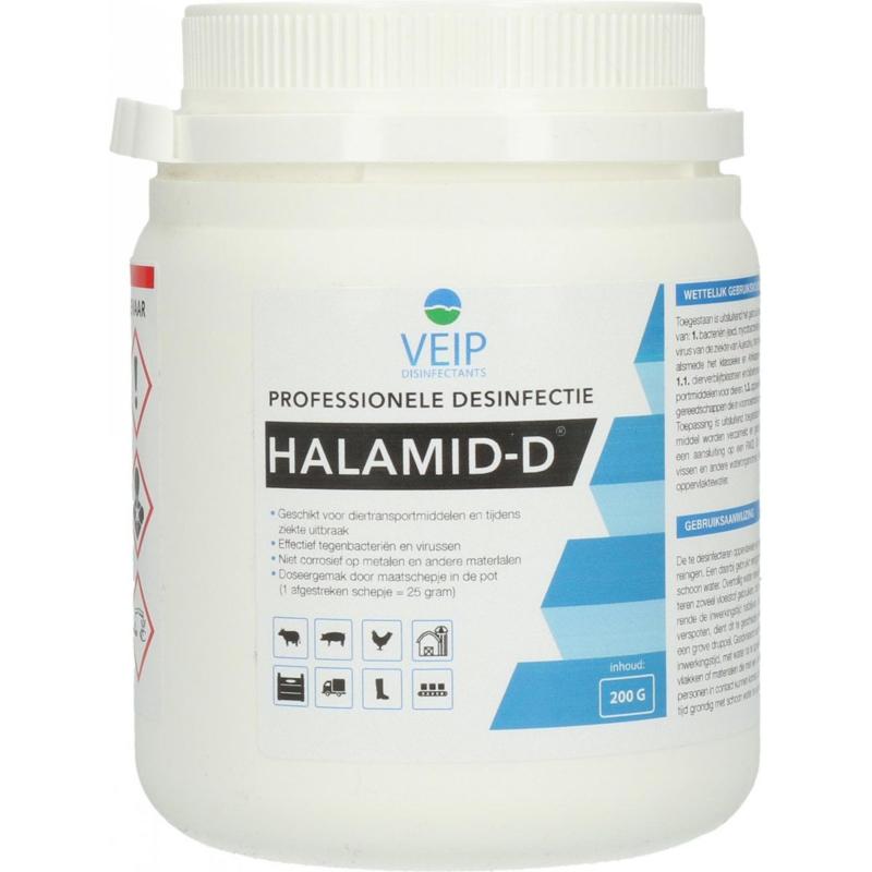 VEIP - HALAMID-D WIT 200 GR