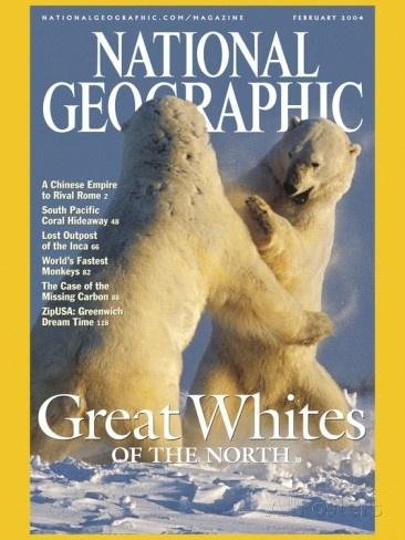 5 National Geographic tijdschriften