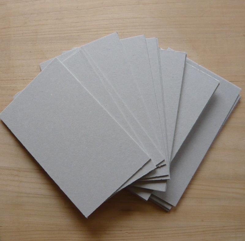 Karton voor SoulCollage® kaarten 100 stuks