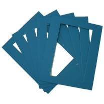 5 SoulCollage® passepartouts voor het maken van kaarten