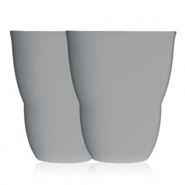 VIPP 201 grijs espresso kopje, set van 2