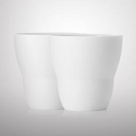 VIPP 201 wit espresso kopje, set van 2