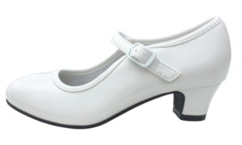Flamenco shoes white