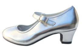 Flamenco shoes silver