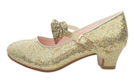 Flamenco shoes gold heart Deluxe