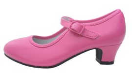 Flamenco shoes dark pink
