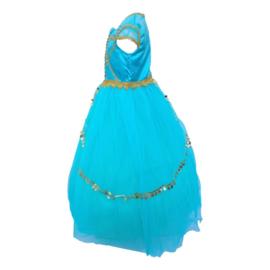 Jasmine Arabische Prinsessenjurk Deluxe + GRATIS hoofdband
