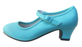 Flamenco shoes blue