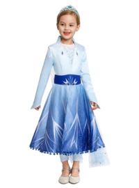 Elsa jurk ster Deluxe + GRATIS ketting