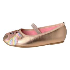 Eenhoorn Unicorn schoenen ballerina rosé goud