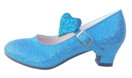 Flamenco shoes blue heart Deluxe