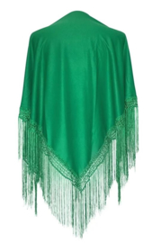 Spanish Flamenco Dance Shawl Green