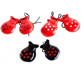 Spanish Castanets with dots (small)