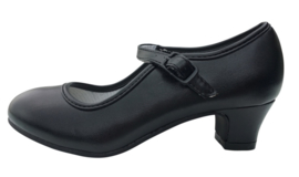 Flamenco shoes black
