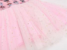 LOL Surprise jurk prinsessen licht roze + GRATIS haarband