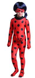 Ladybug kostuum + GRATIS tasje + masker