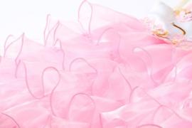 Eenhoorn Unicorn jurk roze laagjes + GRATIS haarband