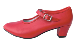 Flamenco shoes red