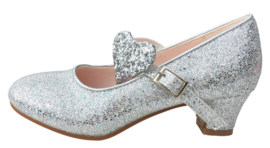 Flamenco shoes silver heart Deluxe