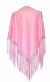 Spanish Flamenco Dance Shawl Light Pink