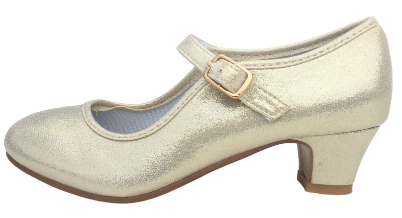 Flamenco shoes gold Pearl