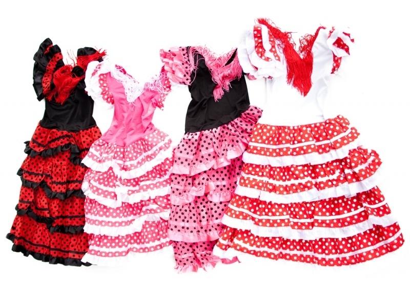 La Señorita Flamenco jurken