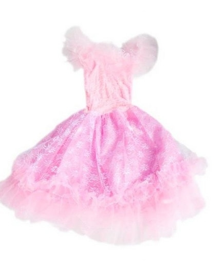 Flamenco princess dress pink