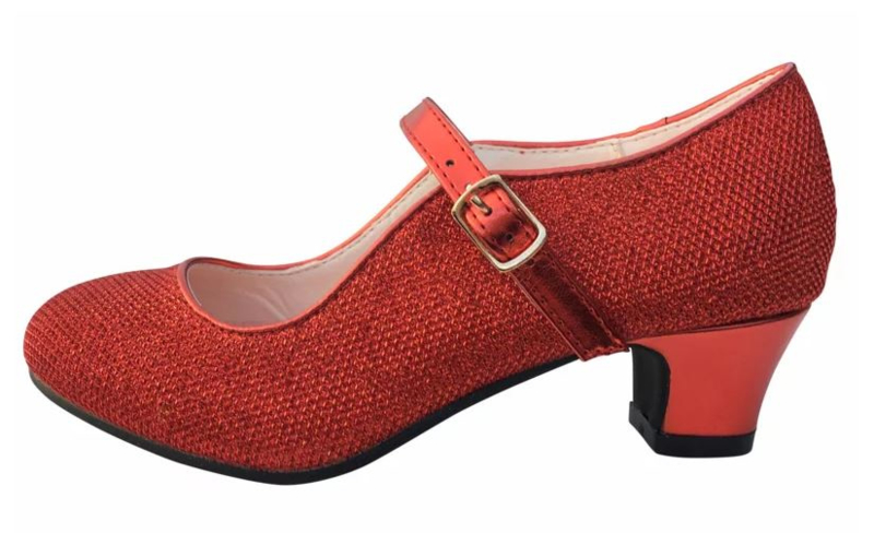 Flamenco shoes red glamour