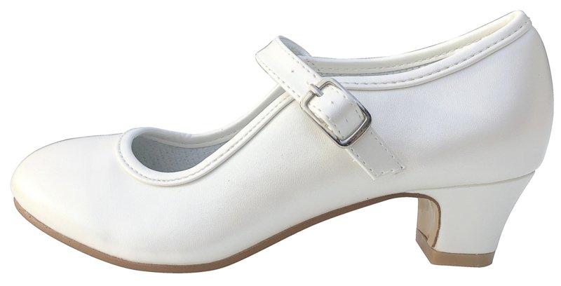 Spaanse schoenen ivoor wit