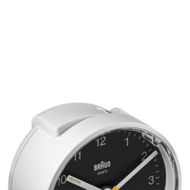 Braun Wekker BC01WB Wit/Zwart