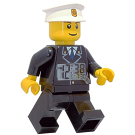 LEGO City Wekker Politieman 20cm